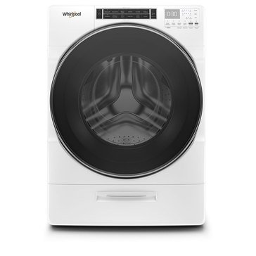 Whirlpool 5.0-Cu.Ft. Front Load Washer, White (WFW8620HW)