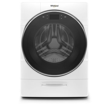 Whirlpool 5.0-Cu.Ft. Smart Front Load Washer, White (WFW9620HW)