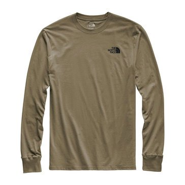 The North Face Men's Long Sleeve Red Box Tee