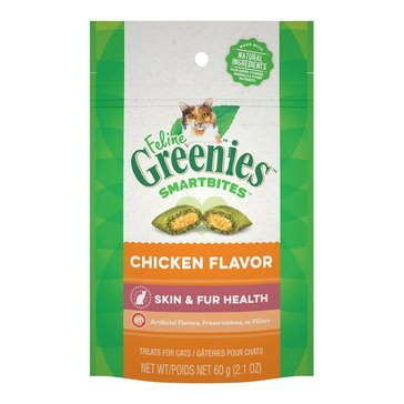 Greenies Smartbites Chicken Adult Cat Treat