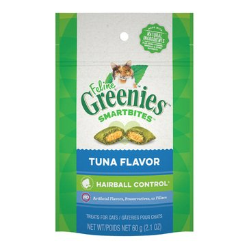 Greenies Smartbites Hairball Tuna Adult Cat Treat