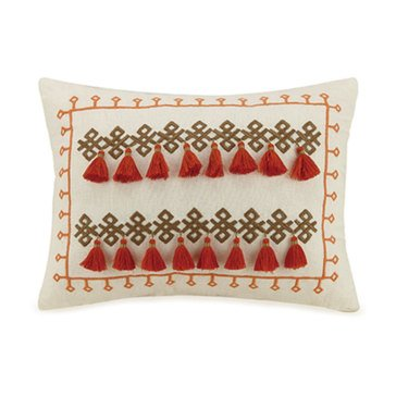 Jessica Simpson Caicos Tassel Decorative Pillow