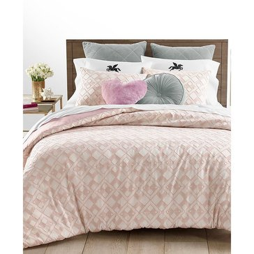 Martha Stewart Collection Whim Clip Jacquard Comforter