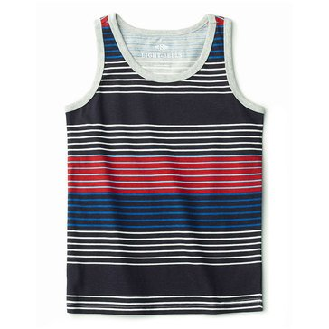 Eight Bells Little Boys' Printed Stripe Tank