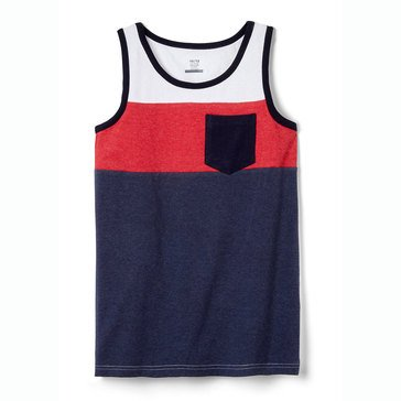 Eight Bells Little Boys' Color Block Jersey Tank
