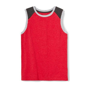 Eight Bells Big Boys' Color Block Muscle Tank