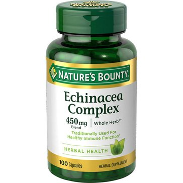 Nature's Bounty Echinacea Complex 450 MG 100ct
