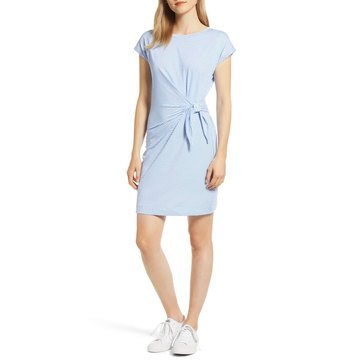 Vineyard Vines Women's Striped Side Tie Dress