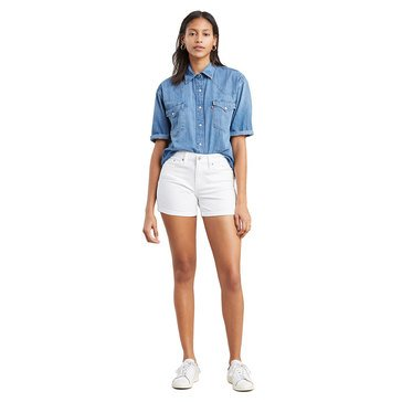 Levi's Women's Mid-Length Denim Shorts