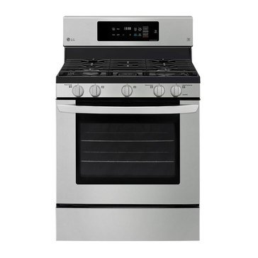 LG 5.4-Cu.Ft. Gas Single Oven Range with Fan Convection, Stainless Steel (LRG3194ST)
