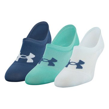 Under Armour Women's 3=Pack Essential Ultra Low Socks