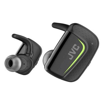JVC Completely Wireless Sports Headphones with Charging Case