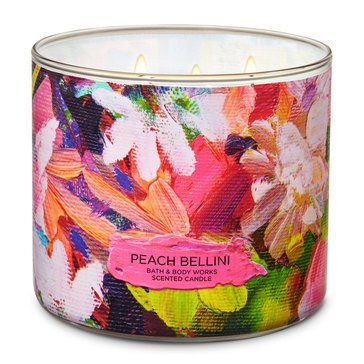 Bath & Body Works Peach Bellini 3-Wick Candle