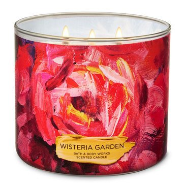 Bath & Body Works Wisteria Garden 3-Wick Candle