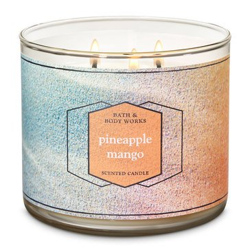 Bath & Body Works Pineapple Mango 3-Wick Candle