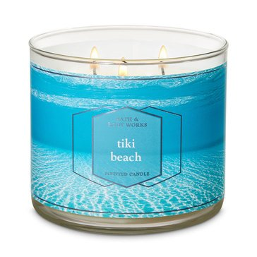 Bath & Body Works Tiki Beach 3-Wick Candle