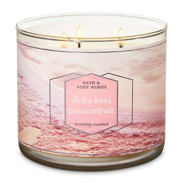 Bath & Body Works Aloha Kiwi Passionfruit 3-Wick Candle