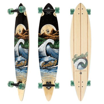 Sector 9 Bamboo Series Moonlight Maverick Skateboard