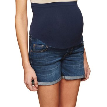 Motherhood Maternity Babyroll Denim Short