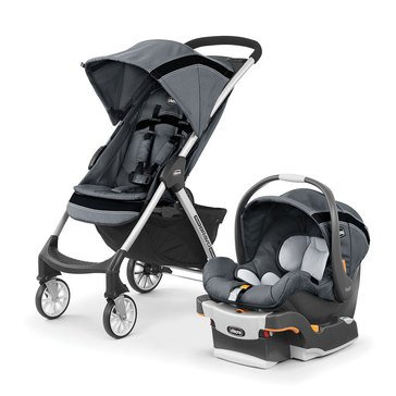 Chicco Mini Bravo Sport Travel System- Carbon