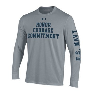 Under Armour Men's USN Honor Courage Performance Cotton Tee