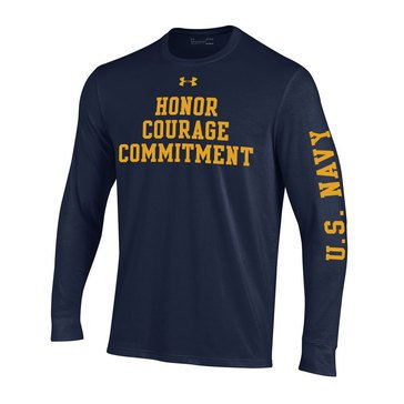 Under Armour Men's USN Honor Courage Performance Tee