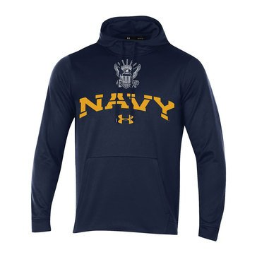Under Armour Men's USN Eagle Shield Arched Armour Fleece Hoodie