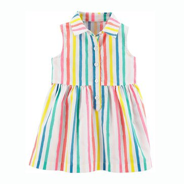 Carter's Baby Girls' Striped Shirt Dress