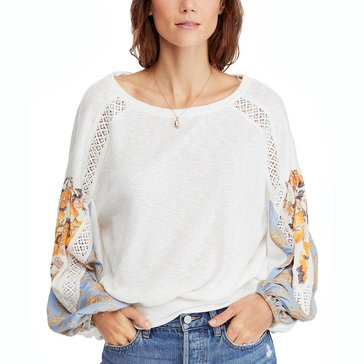 Free People Women's Casual Clash Top