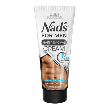 Nad's Hair Removal Cream for Men, 6.8oz