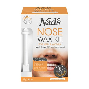 Nad's Hair Removal Nose Wax for Men & Women, 1.6oz