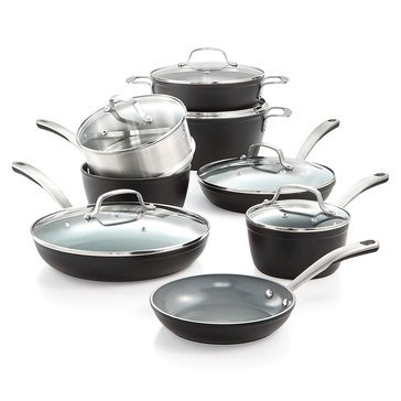 Culinary Science by Martha Stewart Collection 14-Piece Aluminum Cookware Set