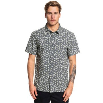 Quiksilver Men's Minimal Flower Shirt