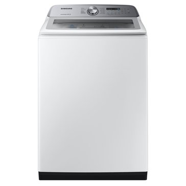 Samsung  5.0-Cu.Ft. Top Load Washer with Active WaterJet, White (WA50R5200AW)