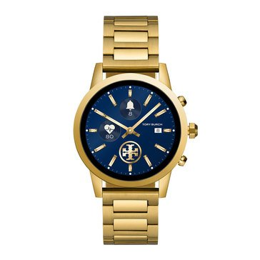 Tory Burch Gigi Touchscreen Smartwatch, Gold-Tone Stainless Steel, 40mm