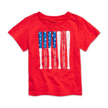 First Impressions Baby Boys' Baseball Flag Tee