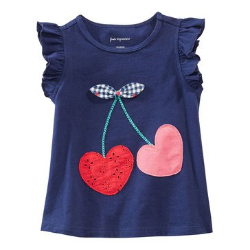 First Impressions Baby Girls' Cherries Tee