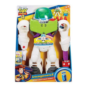 Fisher-Price Imaginext Disney Pixar Toy Story 4 Buzz Lightyear Robot Play Set