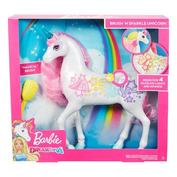Barbie Dreamtopia Brush 'n Sparkle Unicorn