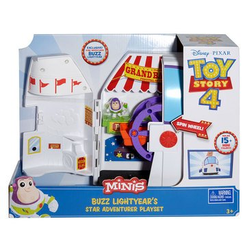Disney Pixar Toy Story 4 Minis Buzz Lightyear's Star Adventurer Playset