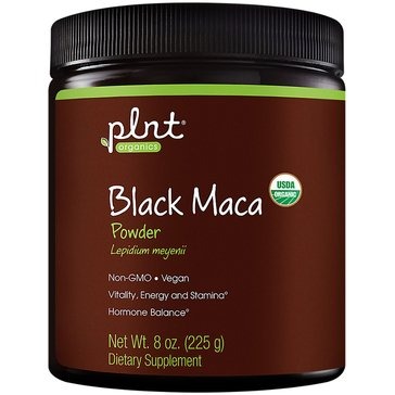 Plnt Organic Black Maca Powder Non-GMO and Vegan 45 Servings