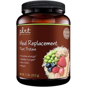 Plnt Meal Replacement Plant Protein - Chocolate 14 Servings