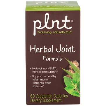 Plnt Herbal Joint Formula Non-GMO and Vegan 60 Vegetarian Capsules
