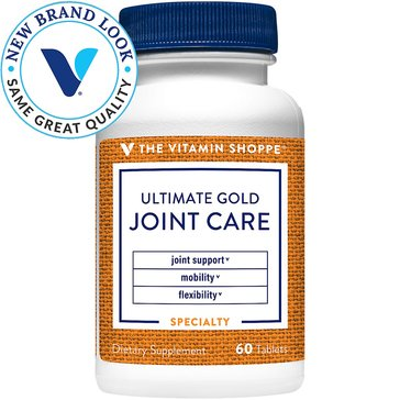 The Vitamin Shoppe Ultimate Gold Joint Care 60 Tablets