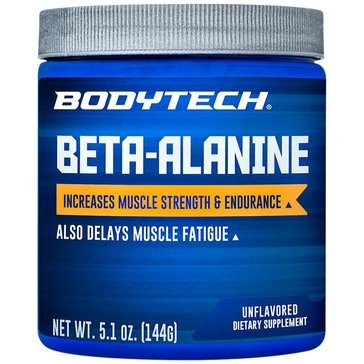 BodyTech Beta-Alanine Powder Unflavored 5.1oz 90 Servings