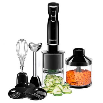 Chefman 6-In-1 Spiralizing Food Prep Kit