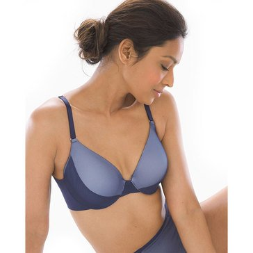 Soma Women's Vanishing Back Full Coverage Layered Mesh Bra