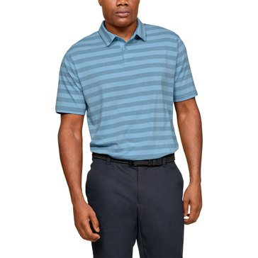 Under Armour Men's short Sleeve Striped Scramble Polo