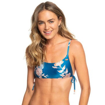 Roxy Women's Riding Moon AthleticTriangle Swim Top