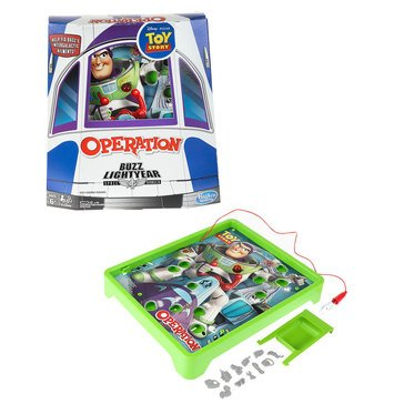 Classic Operation Disney Pixar Toy Story Buzz Lightyear Game